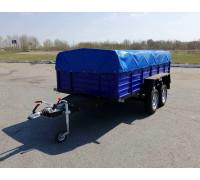 КРД-050109-50 Тормозной двухосный прицеп 3.20м*1.56 м.