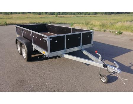 КРД-050110 Прицеп оцинкованный двухосный легковой 3.2м*1.56 м